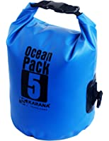 Karana Ocean Dry Pack Day Waterproof Travel Kayak Bag 5 Litre 5L Blue