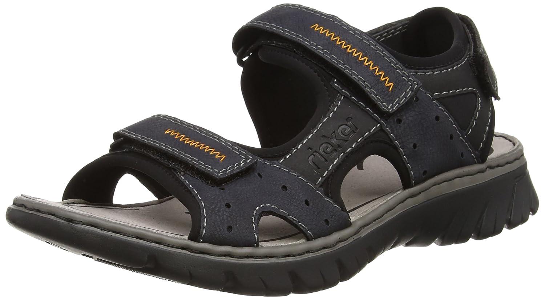 Ruf zuerst riesiges Inventar außergewöhnliche Farbpalette Rieker Herren Sandalen blau, 610190-5: Amazon.ca: Shoes ...