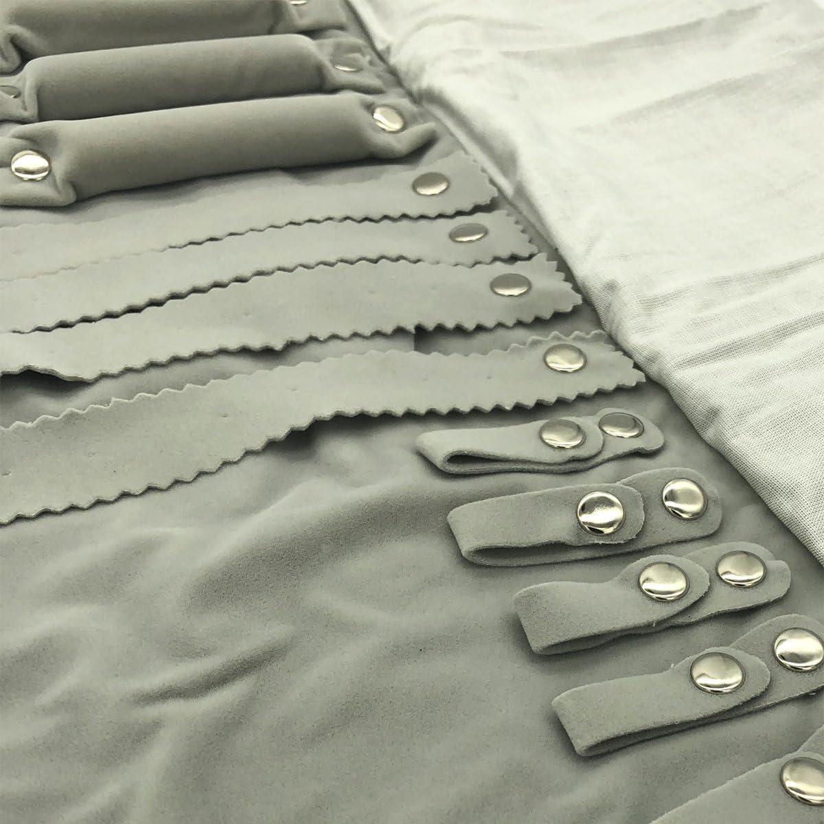 noir bagues UnionPlus Pochette de voyage en velours /à bijoux pour collier boucles doreilles