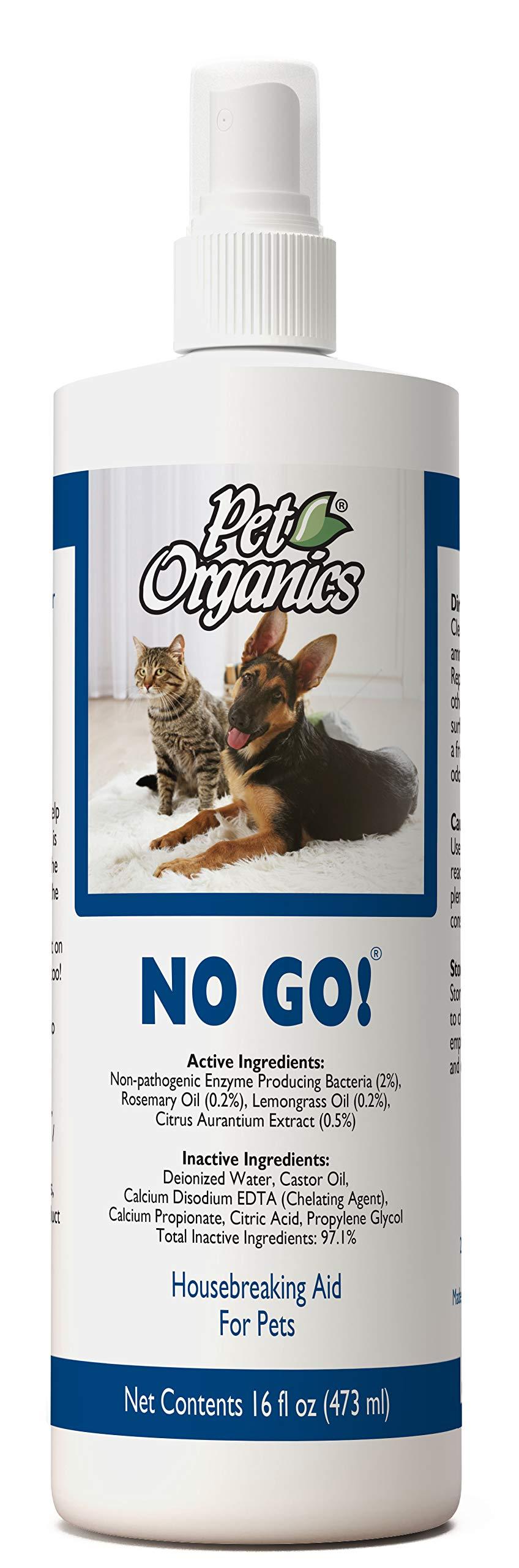 Pet Organics No Go!® Spray - 16 fl oz bottle by Pet Organics