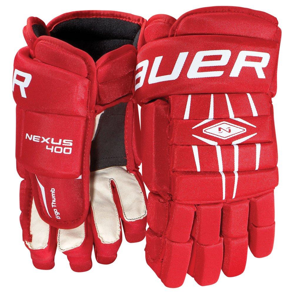 Bauer Senior Nexus 400 Glove, Black, 13