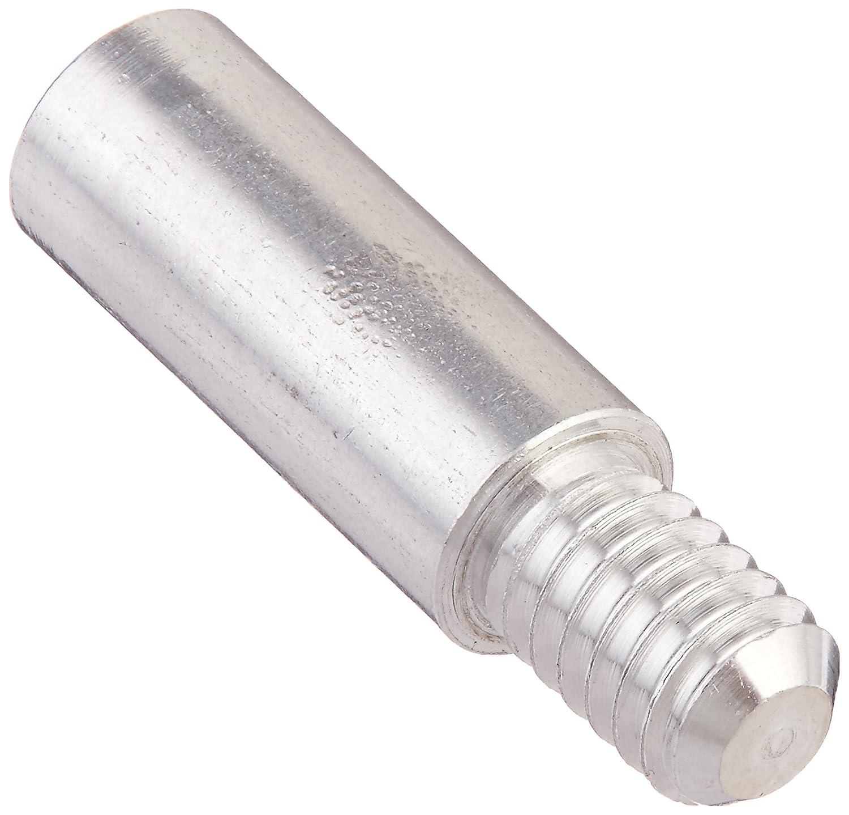 1 Inch Post Length 100-Pack Charles Leonard Aluminum Screw Posts Silver 3706L