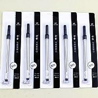 Jinhao Black Ink Rollerball Pen Refill Spiral 0.7 Pen Refill 10 Refills