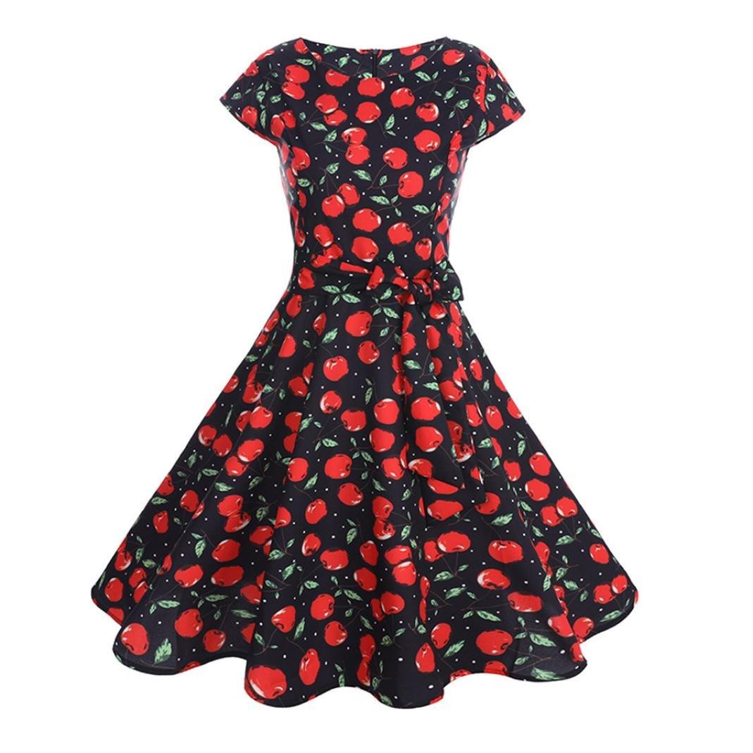 Vectry Sommerkleid Damen Tr/äger /Ärmellos Swing Kleider V-Ausschnitt Strandkleider Einfarbig A-Linie Kleid Boho Kleid Strandkleid Minikleid