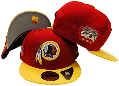 094171f445c Image Unavailable. Image not available for. Color  Washington Redskins  Victory Side 9FIFTY Adjustable Snapback Hat   Cap