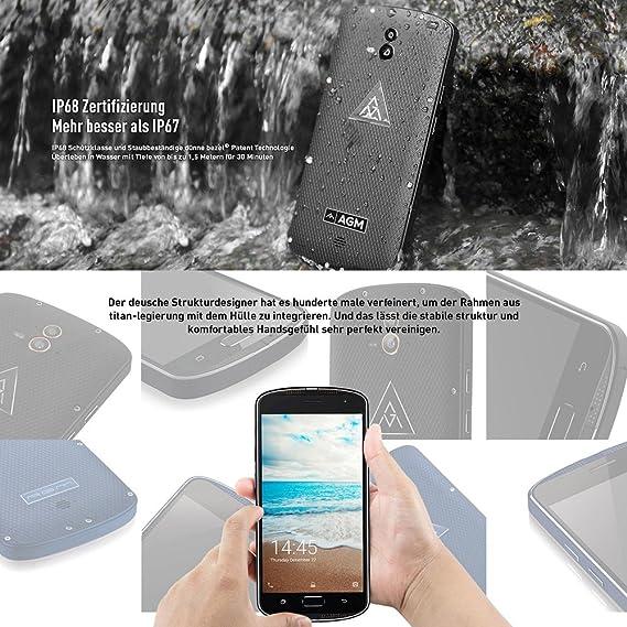 AGM X1 Smartphone 4 G Outdoor sin Contrato IP68 resistente al agua ...