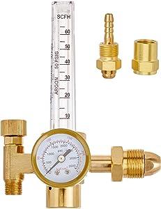SPARC Argon CO2 Flowmeter and Regulator MIG TIG 0-60CFH CGA580 Inlet 2YR USA Warranty