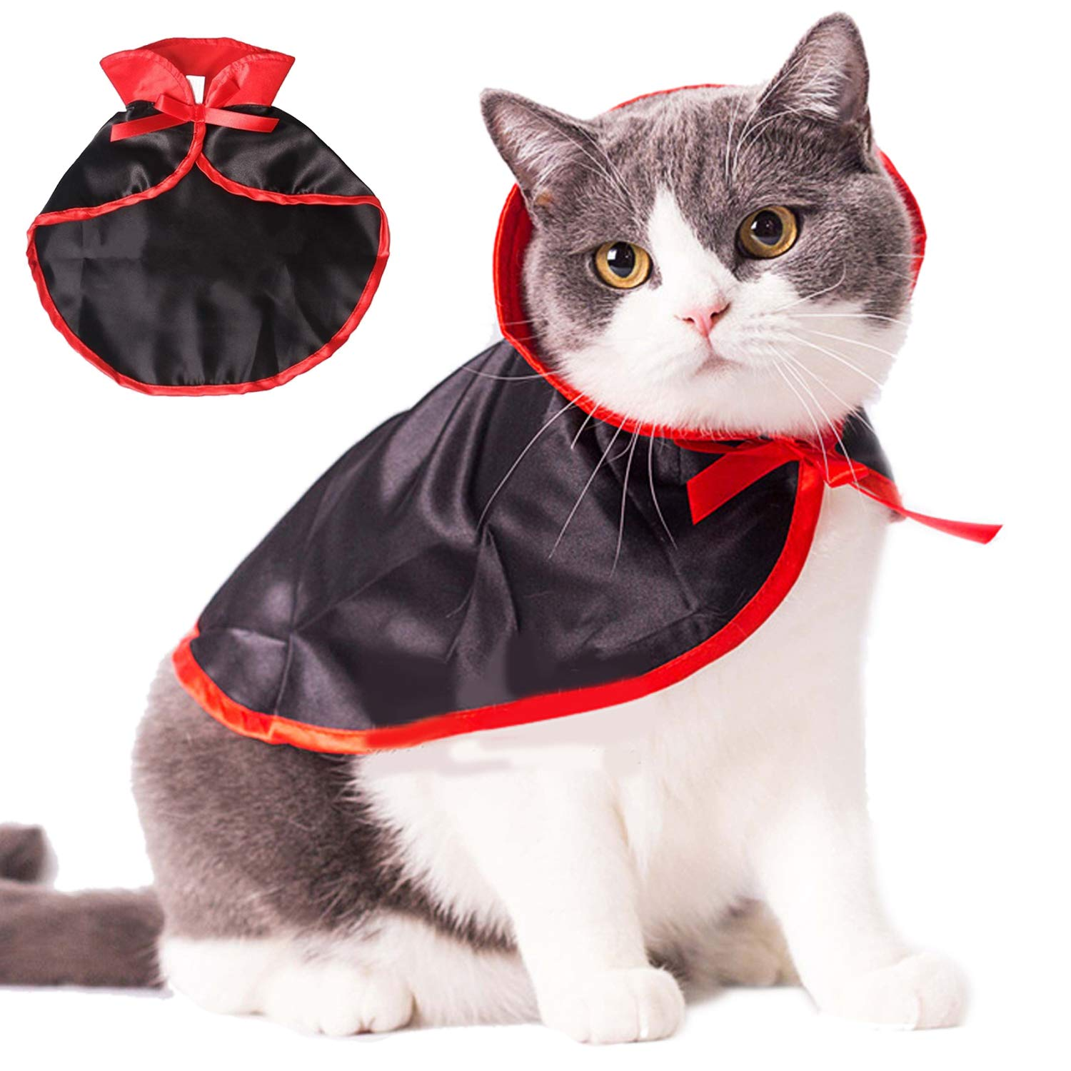 Legendog Cat Costume Halloween Bat Wings Pet Costumes Pet Apparel for Small  Dogs and Cats (Halloween Cape)