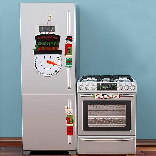 KATOOM Manija de la Puerta del Refrigerador 4pcs Cocina Guantes ...