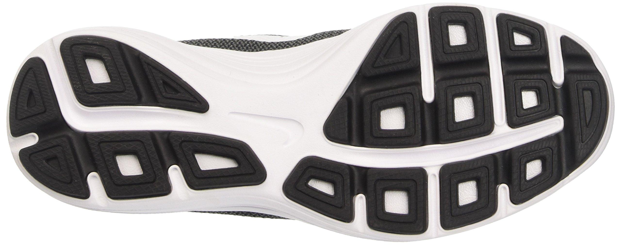 Nike Boys' Revolution 3 (GS) Running Shoe Dark Grey/White/Black/Pure Platinum 3.5 M US Big Kid by Nike (Image #3)