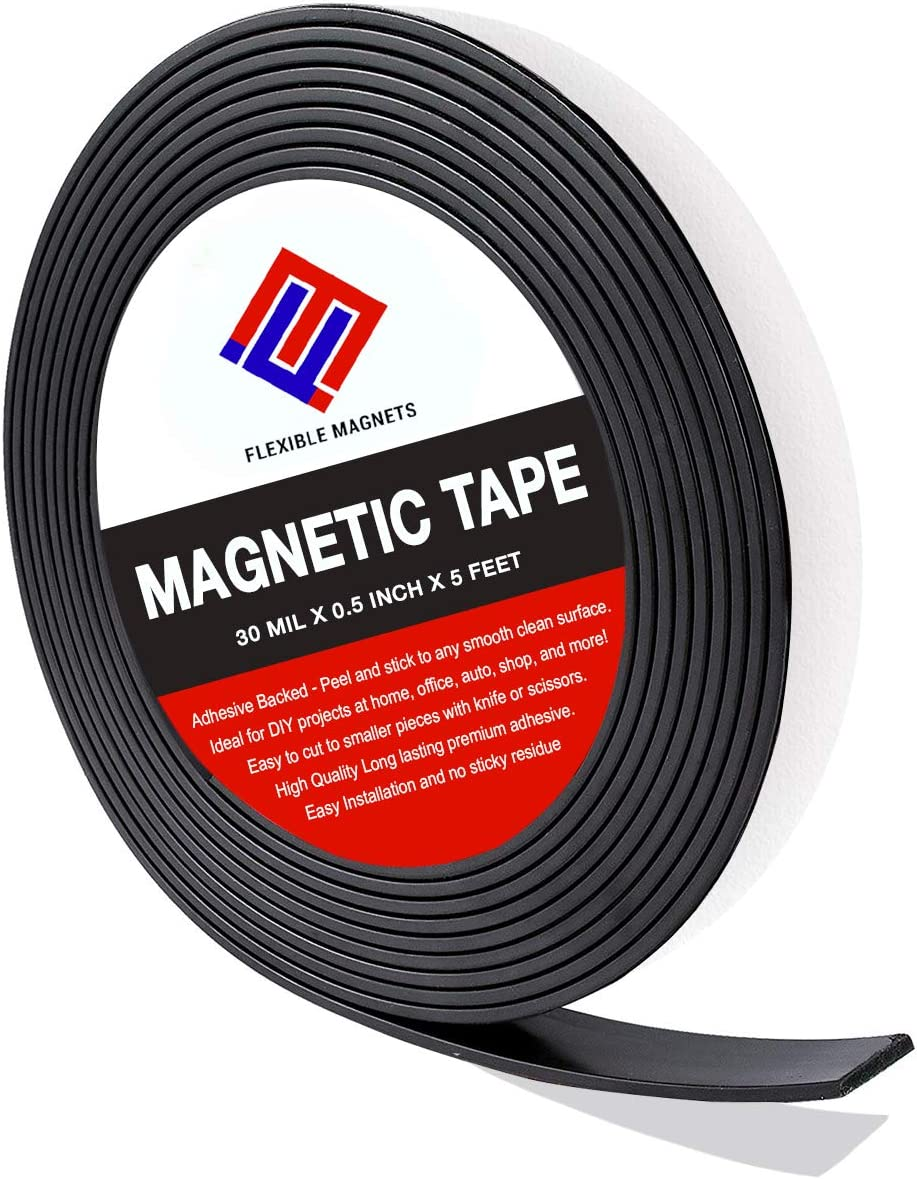 Self-Adhesive Magnetic Flexible Tape by The Magnet Shop®