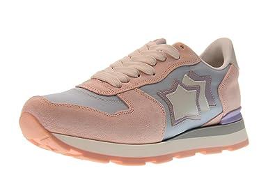 Atlantic Stars Schuhe Frau Niedrige Turnschuhe Vega AT 29GL