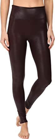 3f7c6ad9b3a9c SPANX Womens Faux Leather Leggings at Amazon Women's Clothing store: