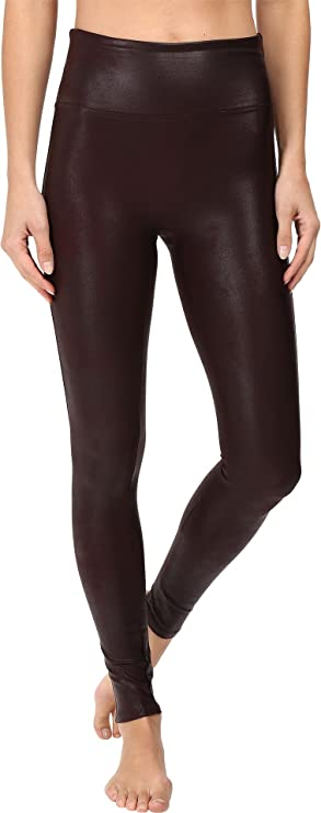 c8a3485582a0ee SPANX Womens Faux Leather Leggings at Amazon Women's Clothing store: