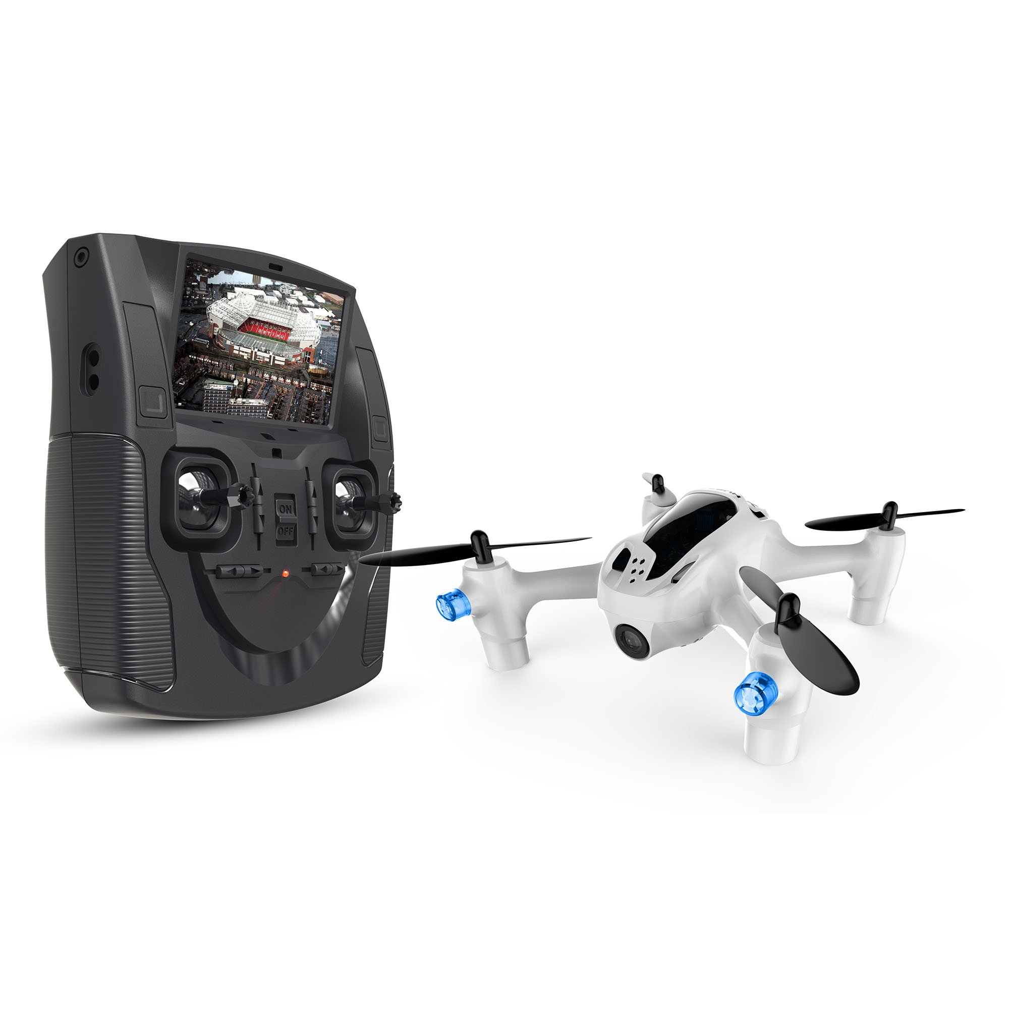 Hubsan X4 H107D+ FPV X4 Plus RTF Quadcopter with 720P HD Camera 6-axle Gyro RC Helicopter Drone