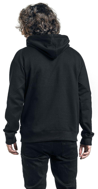 Black Premium by EMP Bodies Hooded Sweatshirt Black: Amazon.co.uk: Clothing