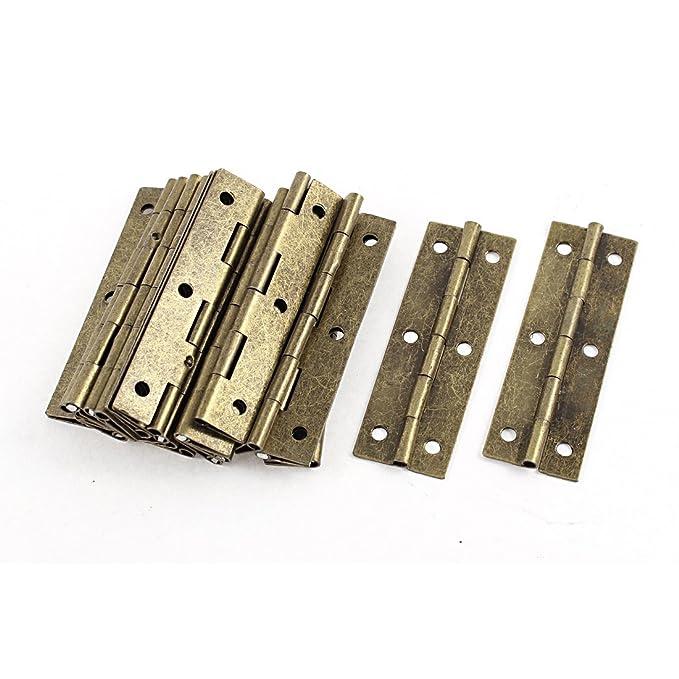 20 St Braun Montage m. Schraube Drehbare Tür Scharniere Hardware 20 ...