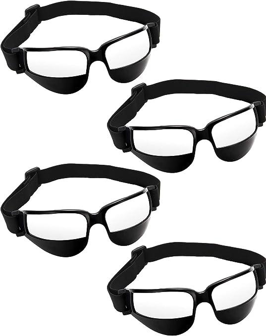 Patelai 4 Piezas de Gafas de Regate de Baloncesto para Ayuda de ...