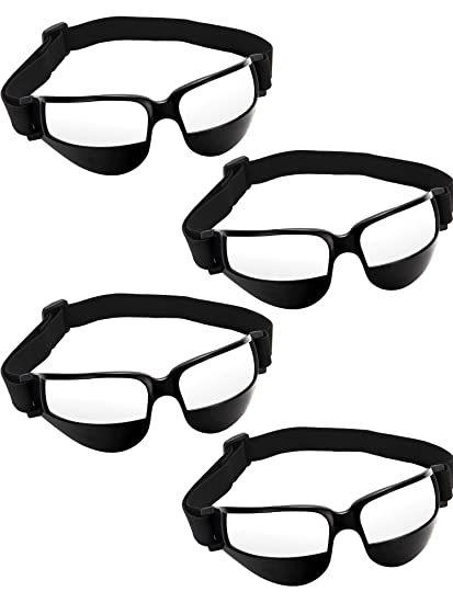 Balls Fine Basketball White Dribble Glasses