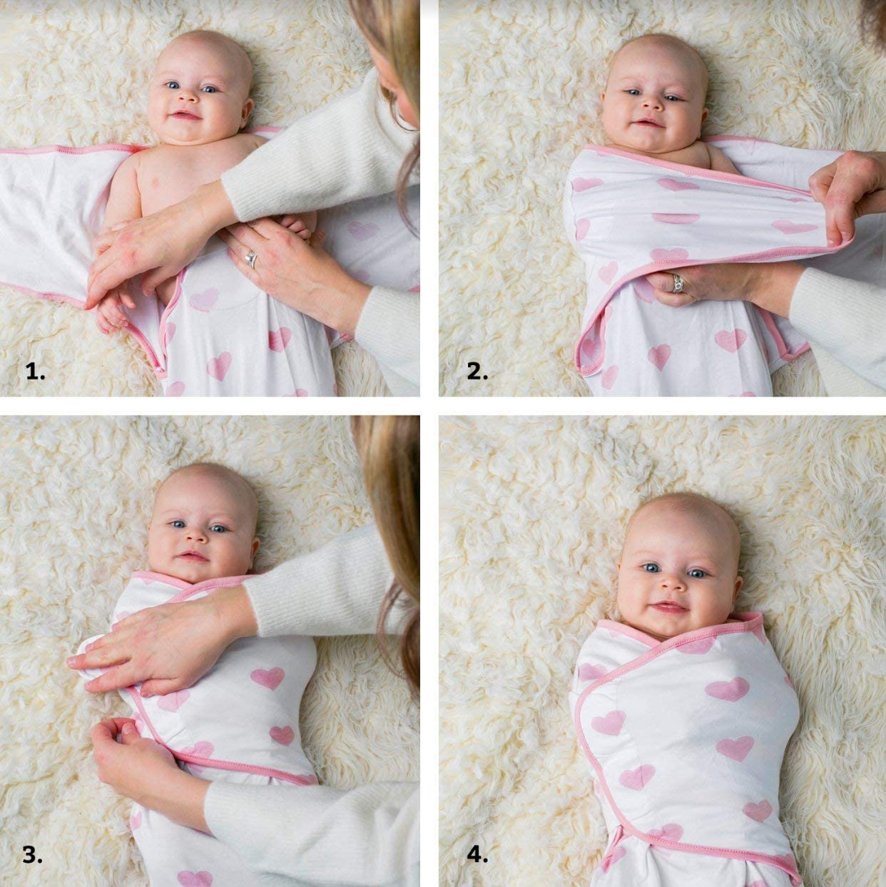100/% ORGANIC COTTON HEIRLOOM DUSTY PINK NEWBORN BABY GIRL BLANKET /& HAT GIFT SET