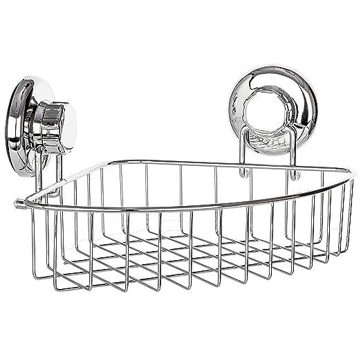 HASKO accesorios - Estantería esquinera de ducha con ventosa ...