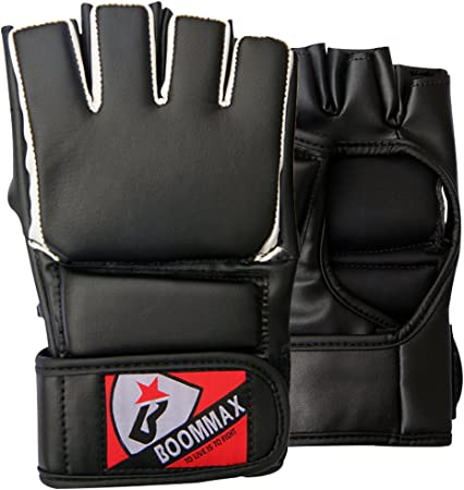 Boxing MMA Gloves Grappling Punching Bag Training Kickboxing Fight Sparring New