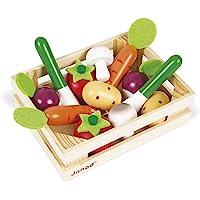 Janod - J05611 - Cagette de 12 légumes (bois)
