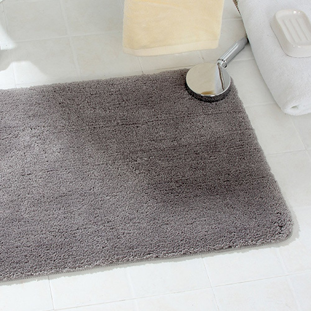 Absorbent Bathroom Rugs Non Slip Bathmat Super Soft Bath