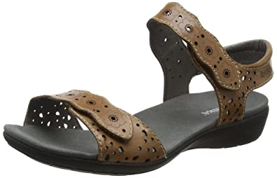ROMIKA 47103 72 - Tahiti 03 - Sandales - Femme - Noir (Black 100) - 36 EU fCXOyh
