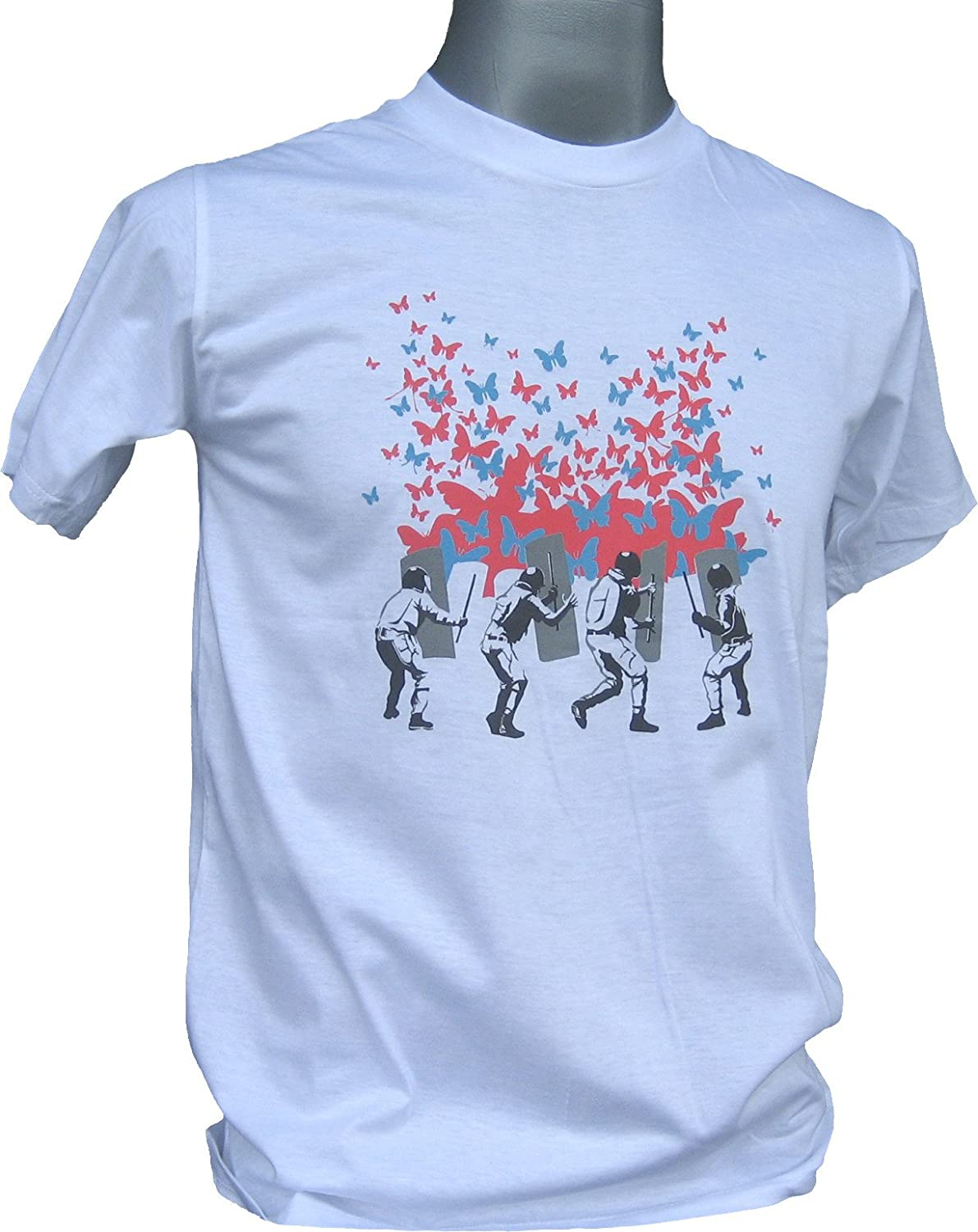Full Funk Baton and Shields vs the Butterfly Masses of Love T-Shirt