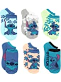 Lilo & Stitch Women's No Show Multi Pack Socks Set