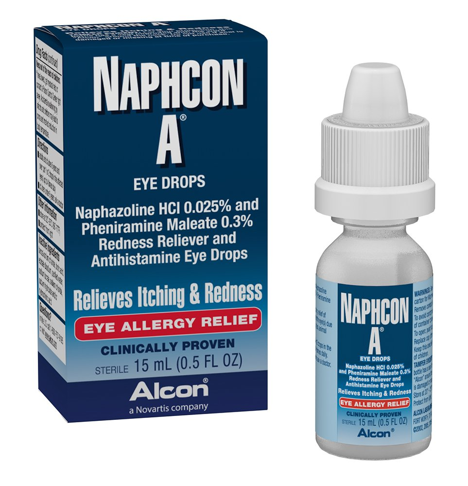Naphazoline Ophthalmic Reviews
