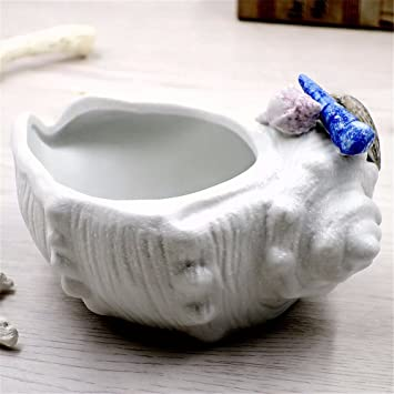 Mediterrane Dekoration Kreative Conch Aschenbecher Handwerk Wohnzimmer  Weinkühler Mode Keramik Tisch Pendel