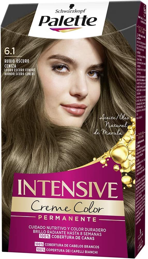 Schwarzkopf Palette Intensive Creme Color – Tono 6.1 cabello ...