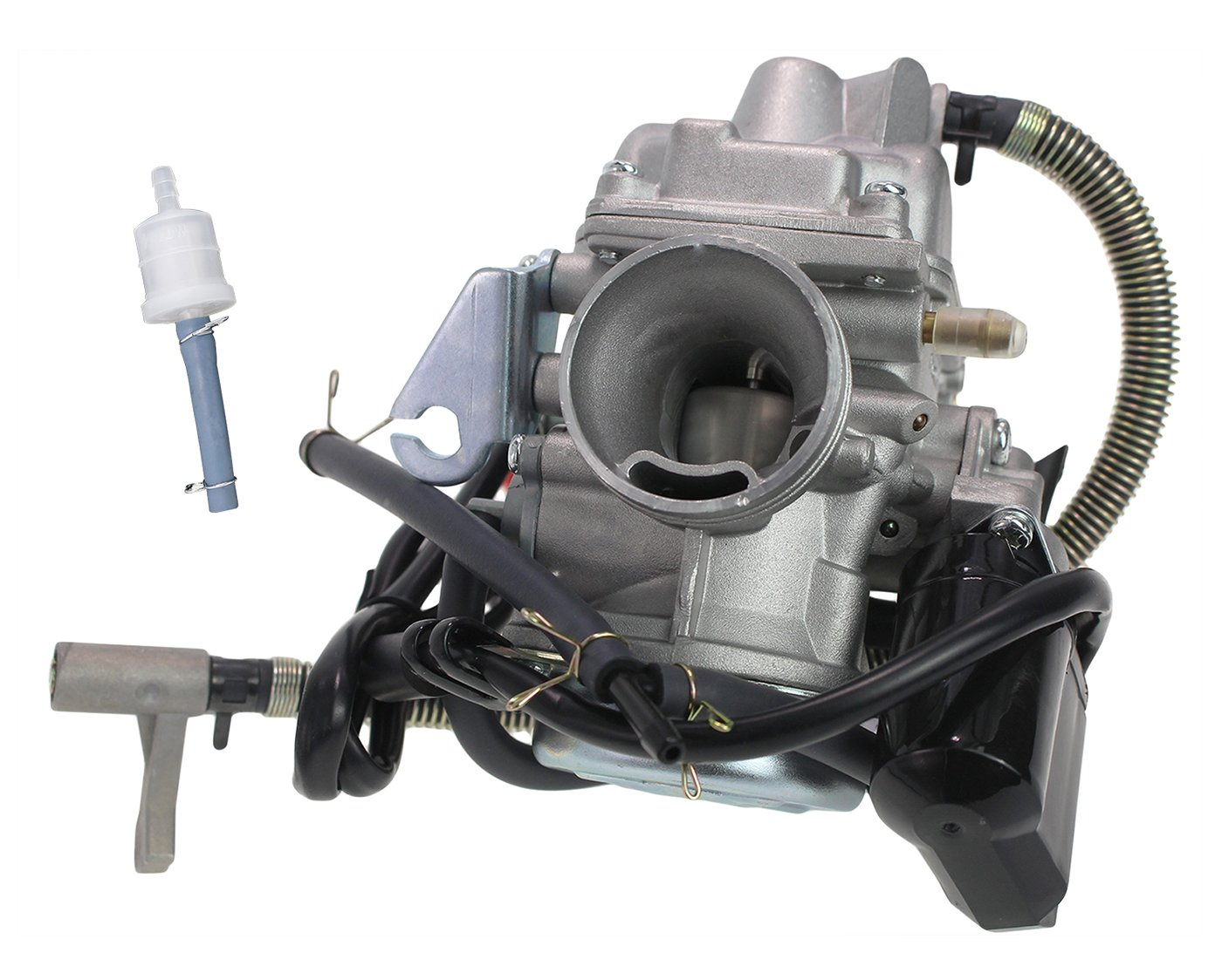 PD24J Carburetor fits GY6 150cc 125cc 4 Stroke Electric Choke Motorcycle  Scooter