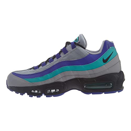 check out e7204 ac6ed NIKE Unisex Adults Air Max 95 Og Fitness Shoes, Multicolour (Wolf Grey Black