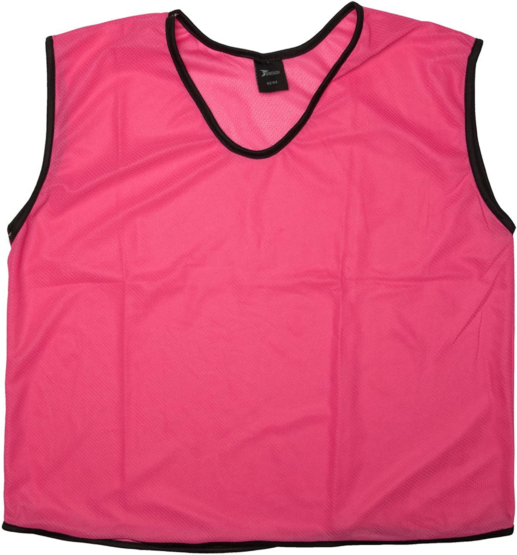 Precision Training Mesh Bib in Pink