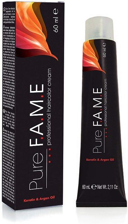Pure f.a.m.e 10.7 haircolor 60 ml claro tinte color marrón ...