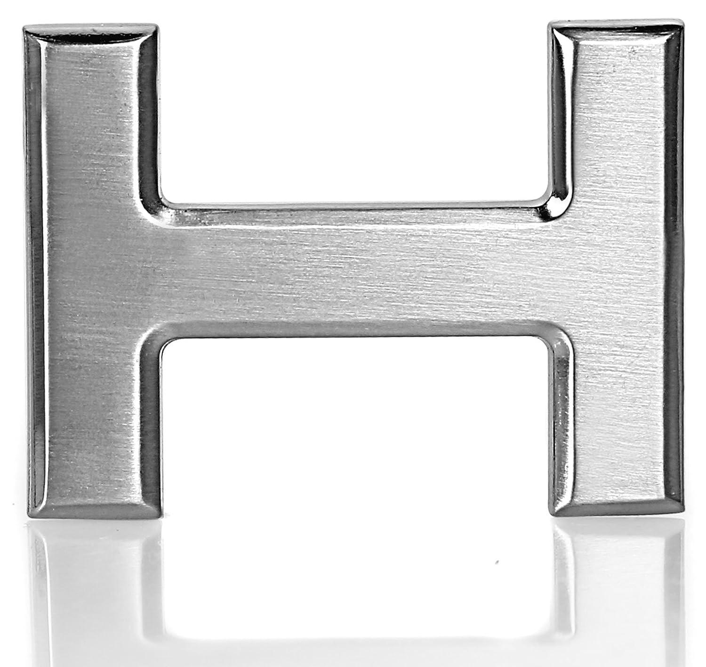 Erdi Ü nver - Fibbia per Cinture - uomo argento Chrom Taglia unica H Chrom 40mm