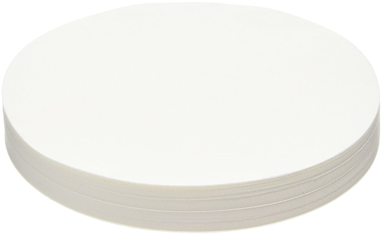 Camlab 1171129 Grade 122 [114] General Purpose Filter Paper, Very Fast Filtering, 150 mm Diameter (Pack of 100)