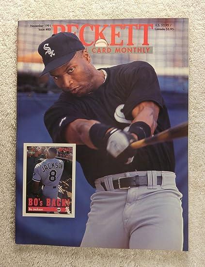 Bo Jackson Chicago White Sox Beckett Baseball Card