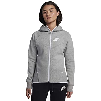 Nike W NSW TCH FLC WR Hoodie FZ Sweatshirt, Mujer: Amazon.es: Deportes y aire libre