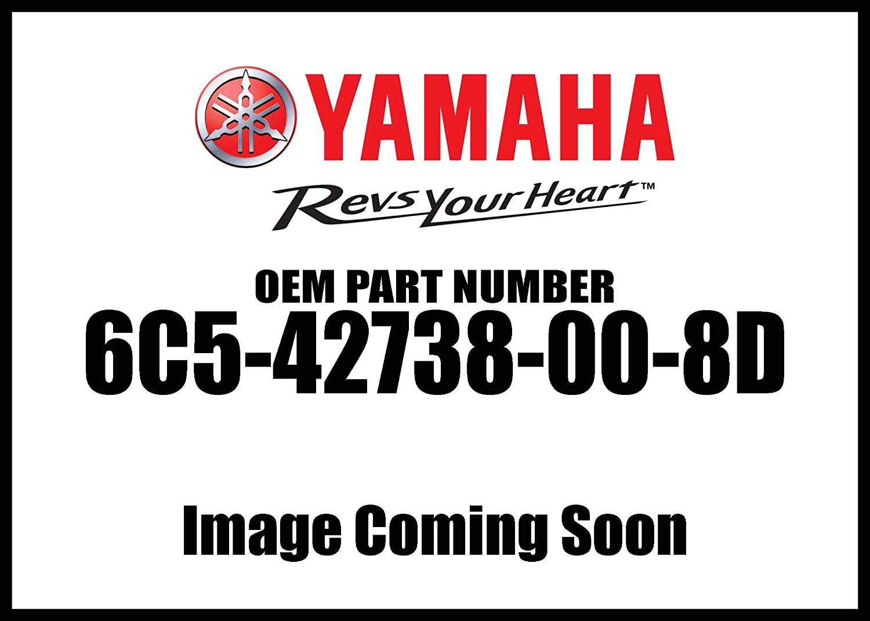 Yamaha Plate Fitting 6C5-42738-00-8D New Oem