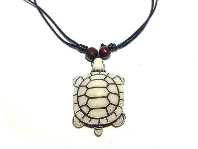 White turtle necklace hawaiian style sea turtle pendant necklace white turtle necklace hawaiian style sea turtle pendant necklace handmade necklace turtle pendant aloadofball Images