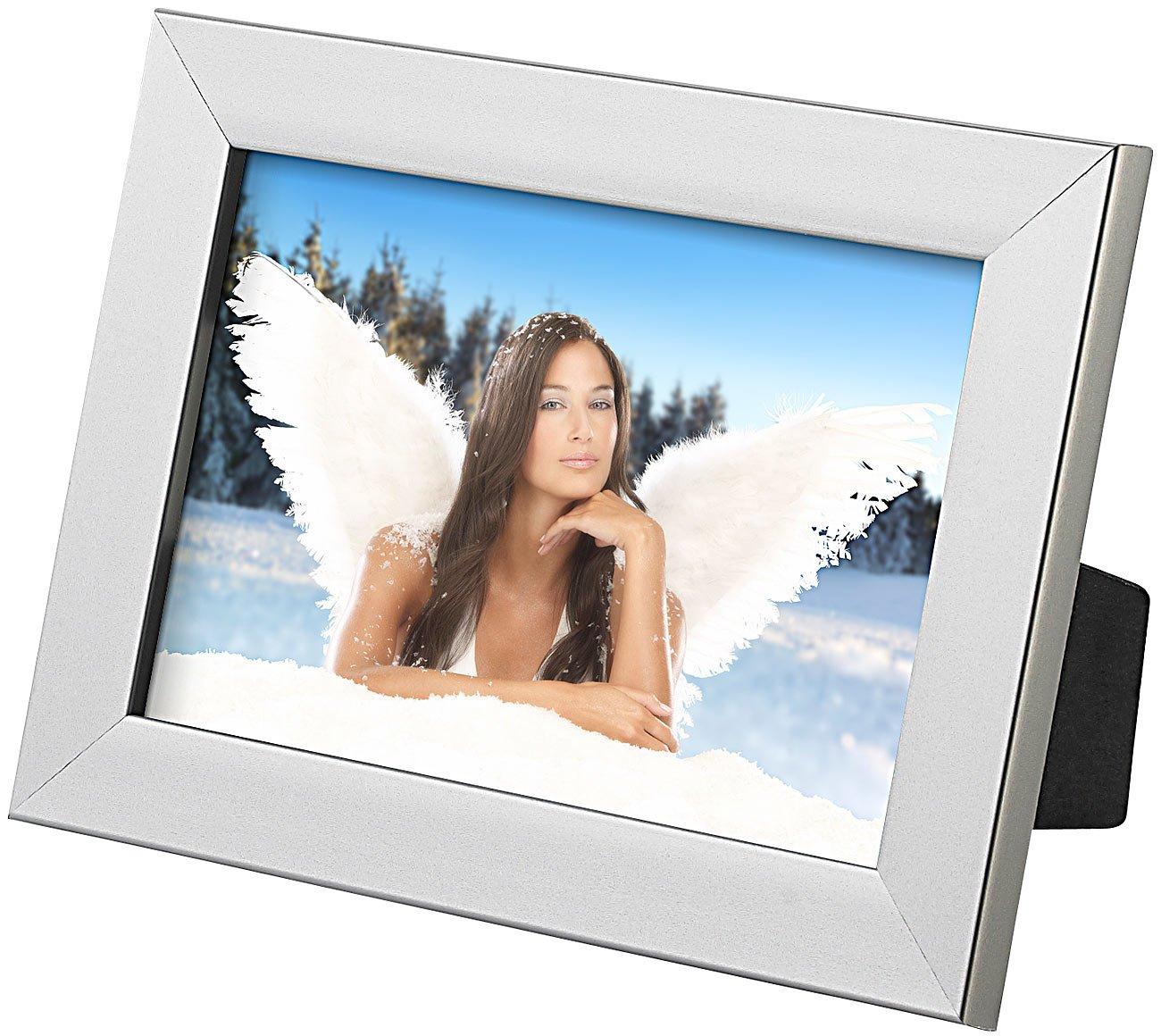 Your Design 10er-Set Bilderrahmen für Fotos mit 10 x 15 cm, silber ...