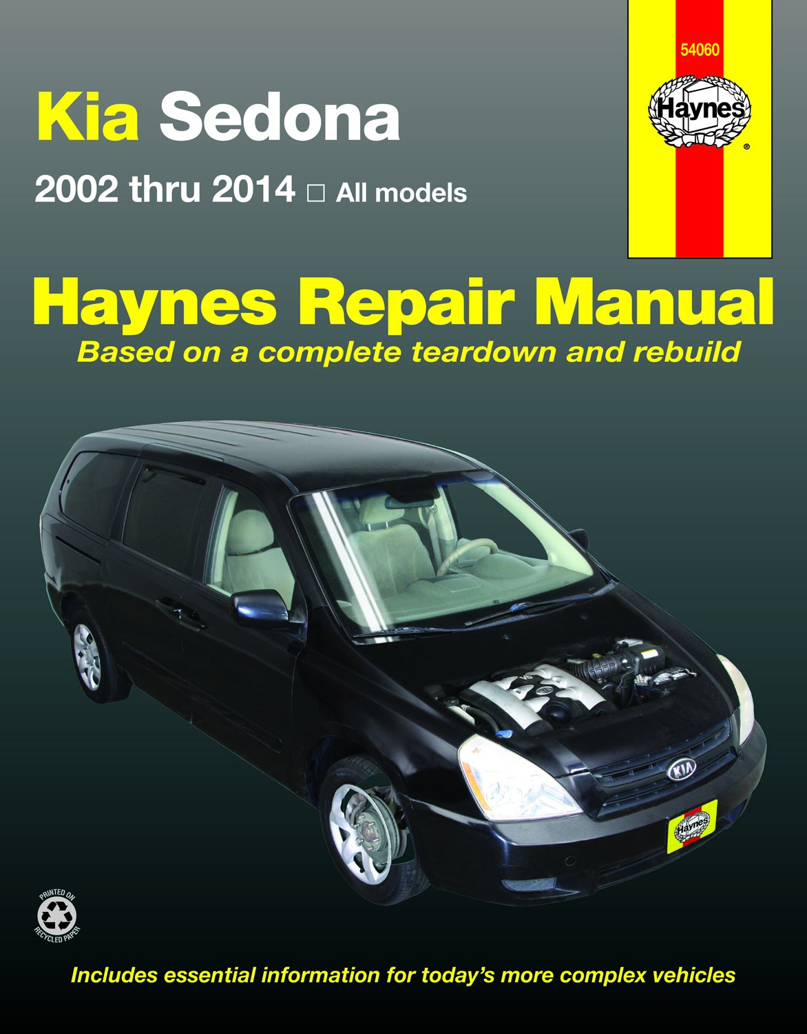 Kia Sedona Repair Manual: 2002-14 (Haynes Automotive): Amazon.co.uk: Haynes  Publishing: 9781620921494: Books