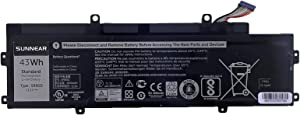 SUNNEAR 43Wh 5R9DD Laptop Battery for Dell Chromebook 11 P22T Series KTCCN 0KTCCN XKPD0 P22T001
