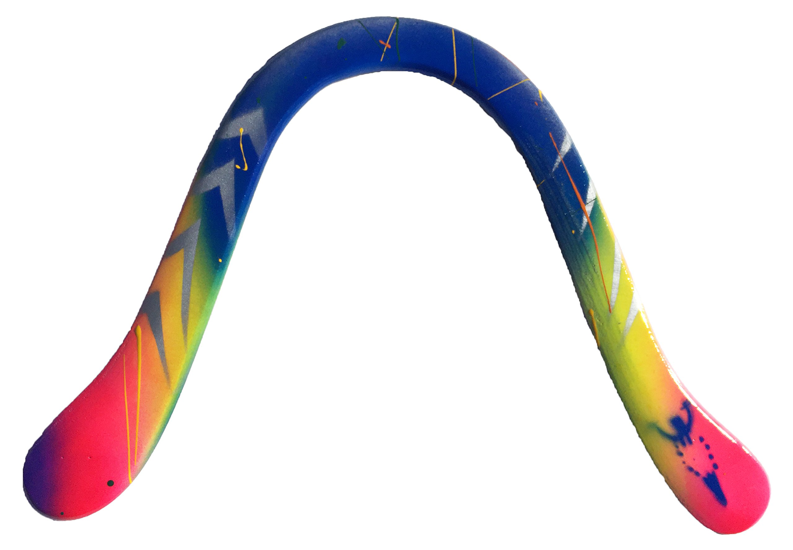 Delicate Arch Special Edition Wooden Boomerangs. Large Hook Boomerangs with weights inserted in the tips for extra distance. Range of 55-60 Meters. Ideal for Men above 15 years old.