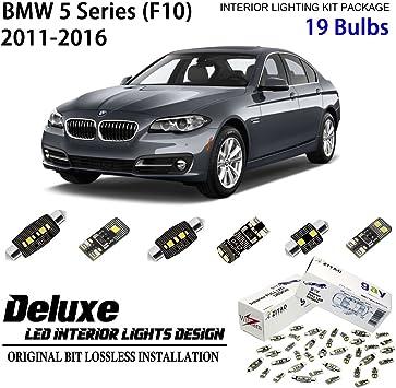 15 x White Error Free SMD LED Interior Lights For BMW 528i 535i 550i F10 Sedan