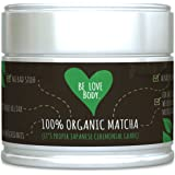 Be Love Body - Organic Matcha Green Tea Powder (It's Proper Japanese Ceremonial Grade) - That Provides A Sustained Energy Release Throughout The Day, 30g Tin